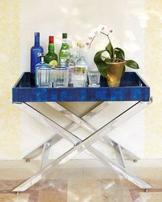 Great way to display a mini bar