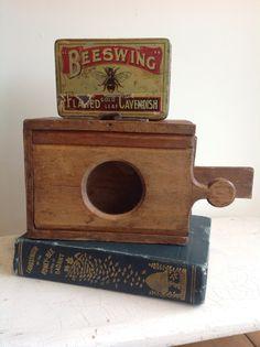 Antique Queen Bee Cage - vintage #beekeeping equipment!
