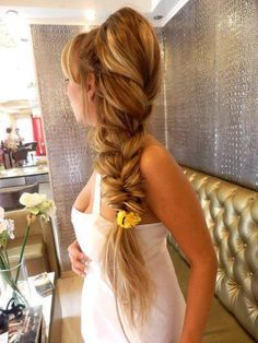 big braid  love it but need more hair to do that look