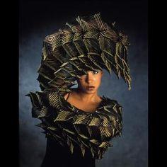 Breathtaking! michell murray, wearabl art, textil art, basket artwork, wearable art, art artist