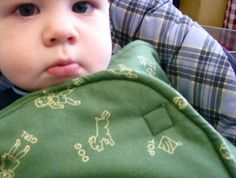 Car Seat Swaddle Blanket: Made By Marzipan