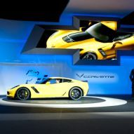 OK, I want one of these too:) 2015 Chevrolet Corvette Z06 at the Detroit Auto Show.