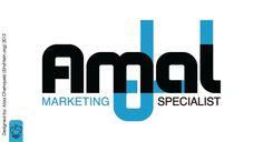 Amal | Logo Design. #Hope #Typography #Arabic