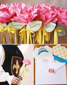 Beauty and the Beast Inspired Princess Party {Part 1}