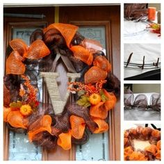 Video Instructions on how to make a Deco Mesh Wreath!