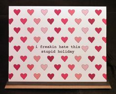 Heh. Anti-Valentine from KitschyHippo on Etsy.