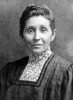 Dr. Susan La Flesche Picotte (1865-1915) First Native American woman to become a physician.  Grew up on Omaha reservation.