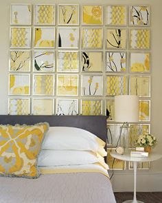 Megan's Musings: Gray and Yellow Bedroom