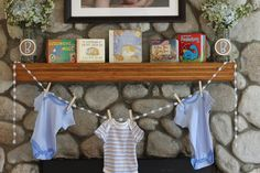 """Photo 1 of 21: Shabby Chic Boy / Baby Shower/Sip  See """"Welcome Baby Brayden"""" 