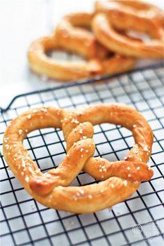 I love homemade pretzels!