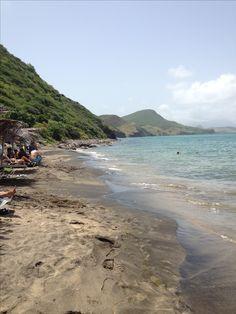 Shipwreck beach bar at Friar's Beach, St. Kitts. #Caribbean