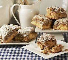 Overnight guests for Thanksgiving? Serve them Sweet Sams Classic Crumb and Apple Crumb Cakes in the morning!
