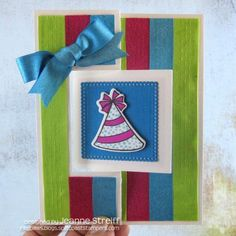 ribbon strip, ribbons, sizzix flip, die cut cards, stamps, stephani barnard, life card, card stamp