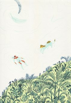 MONICA RAMOS: [ river / lake / spring ] paintings from the group...