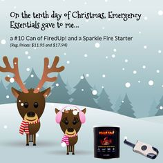 12 Days of Giveaways--Day 10: Fired Up! and Sparkie Fire starters