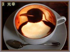 penguin coffe