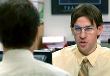 Dwight Schrute Question Gif
