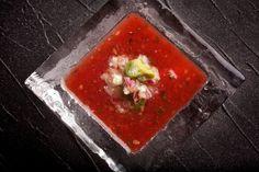 Watermelon-Tomato Gazpacho