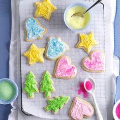 Deluxe Sugar Cookies Recipe from Taste of Home  #Christmas_Cookies