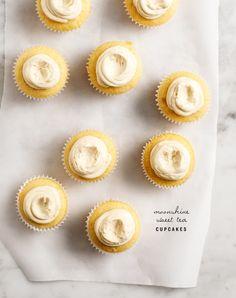 moonshine sweet tea cupcakes