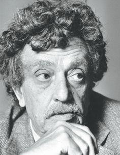 Postcards from Penguin Modern Classics -  Kurt Vonnegut, photograph: Alan Weller/ The Times