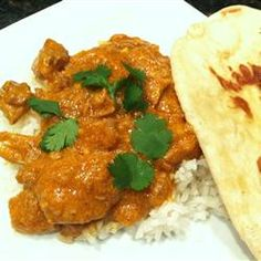 Slow Cooker Butter Chicken... I made this last night. It was so super YUMMY!!!