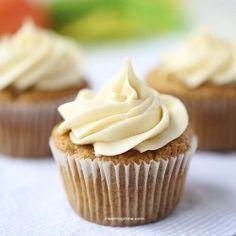 carrot cupcakes #recipe