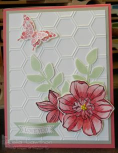 Stampin Up! Secret Garden in New In Colors