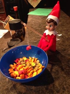 Elf on the shelf activity ideas