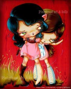 Рисованные куколки - 2 (для идей)