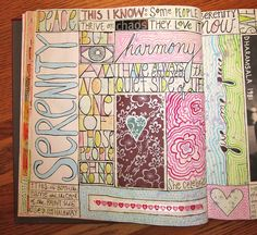 opposites | Flickr -  Art Journal Page