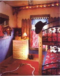 """A """"lil pardners room"""