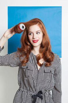 How to curl hair using 4 vintage methods.