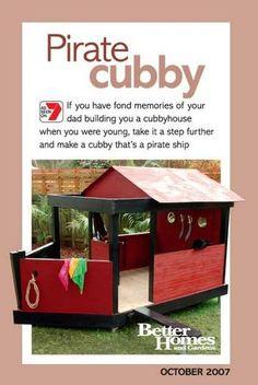 playhouse pirate ship
