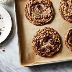 Pan-Banging Chocolate Chip Cookies Recipe Adaptation recipe on Food52