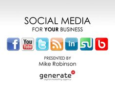 social-media-for-business-business-success-in-berkshire by Mike Robinson via Slideshare