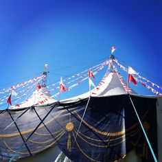 Circus tent!