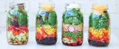 How to Pack a Perfect Mason Jar Salad mason jar salads, mason jars