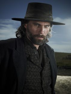 Hell on Wheels - Love this show, and this actor.