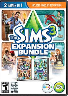 The Sims 3 | The Sims Official Site EP Bundle with Base Game/World Adventures/Generations only $7.99
