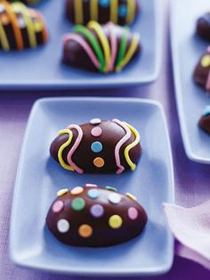 8 Egg-Shaped Easter Sweets