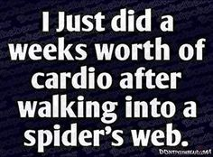 weeks worth of cardio