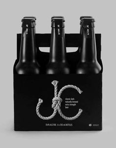 Dark Beer Branding  #beer #package design