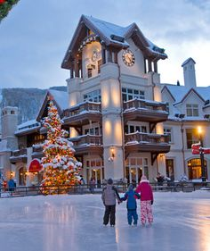 Vail, CO for Christmas :)