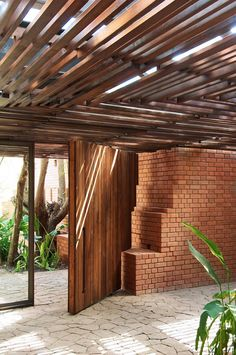 architects, house design, modern country, modern architecture, bricks, kiln hous, wooden doors, brick kiln, country homes