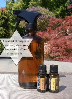 Natural Healing with a doTerra IPC: doTerra Clean -   Pin now to use later! Recipes for natural cleaning