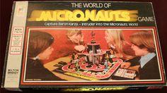 MILTON BRADLEY: 1978 The World of Micronauts Game #Vintage #Games