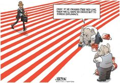 Many Lines to Cross | Capitol Quip by R.J. Matson #matson #politicalcartoons #politics