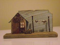 A driftwood house for Lynn