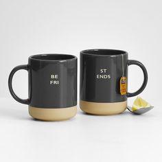 personalized mug set from RedEnvelope.com